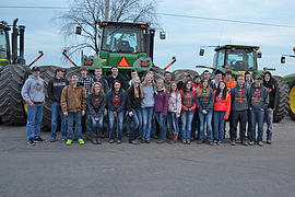Tractor Day has been a long-standing tradition at Winnebago High