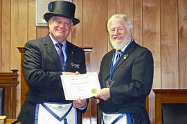 Byron Masons recognize 50-year member