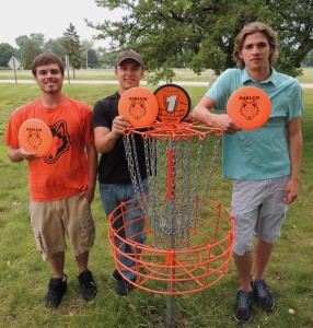 New 9-hole disc golf course opens at Harlem High School