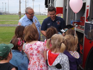 Safety Town presents fire safety