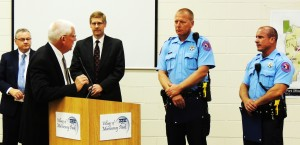 Machesney Park honors sheriff's deputies for saving a life