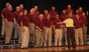 Barbershop Chorus brings crowd back in time