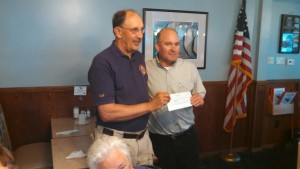 Stillman Valley Lion's Club gives back to the Meridian Education Foundation