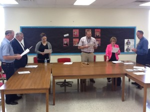New Board of Education sworn in and seated