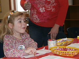 Lion's Club brought smiles to young faces at Kid's Craft Day
