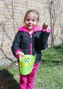 Cross and Crown Lutheran Church hosts egg hunt with a twist