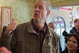Governor-elect Rauner makes stop in Byron on 'Ready to Work Tour""