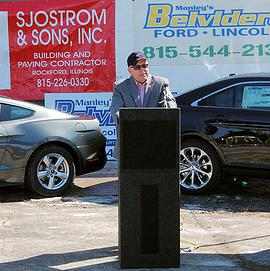 Manley Motors breaks ground on its new home