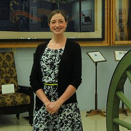 A box of rocks welcomes museum director