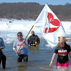 Hundreds take the plunge for Special Olympics