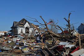 Area residents pitch in to help with Fairdale tornado tragedy