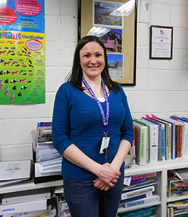 Kinnikinnick teacher receives National Citizenship Education Teacher Award