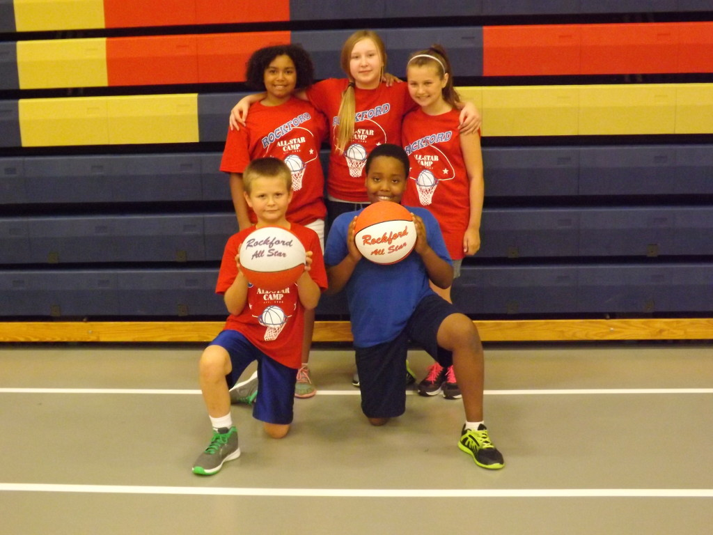 Children learn, have fun, and stay active in local basketball camp