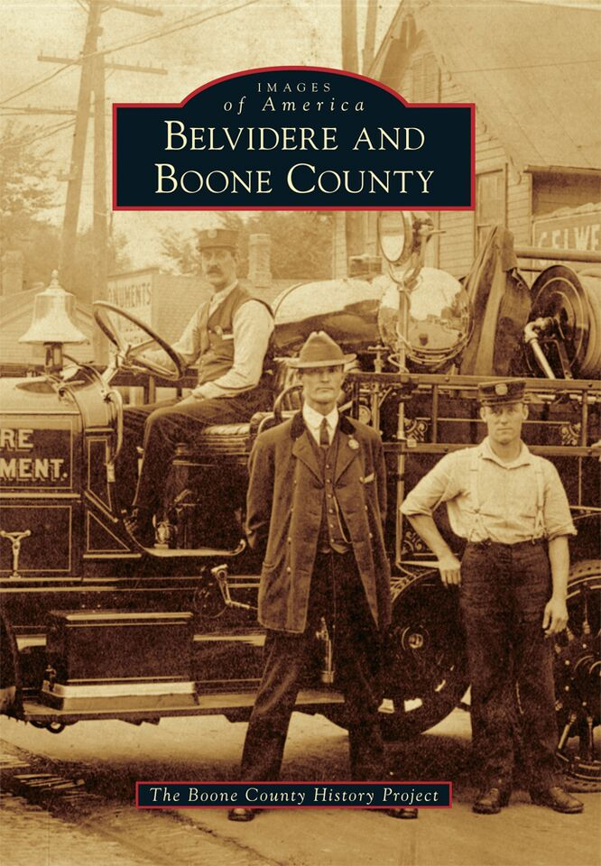 Launch party for new book on Belvidere and Boone County history to be held August 6