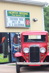 North Boone fire fighters heating up the summer