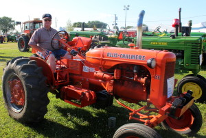 Vintage tractors ride again at Boone County Fair