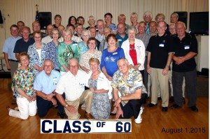 An enjoyable reunion for the Belvidere Class of 1960