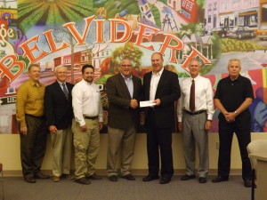 Frontier Communications awards Growth Dimensions with check