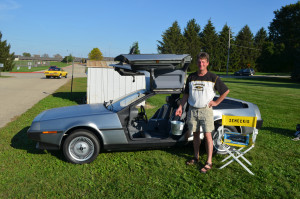 Editor goes for ride in a Delorean bought at a garage sale