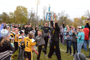 Du-Pec hornets swarm Riverside Park with three championship games