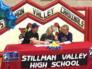 Ali Green signs National Letter of Intent