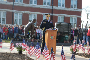 Ogle County Fallen Soldiers Memorial dedicated on Veterans Day