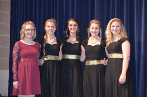 Five Byron students selected to All-State choir