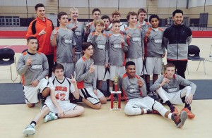Harlem 8th grade basketball wins holiday tournament