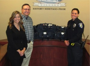 Rockton residents give gift to police department