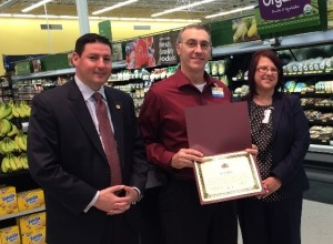 State of Illinois, Rep. Cabello recognize Walmart for contributions to Northern Illinois Food Bank