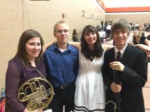 Stillman Valley High School students qualify for the All-State Musical Festival in band