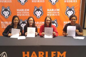 Six Harlem track and field seniors moving on to college level