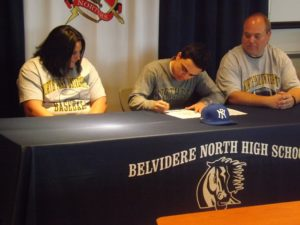 Another BNHS athlete moves onto collegiate level