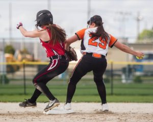 Pitching, timely hitting lead Harlem past Freeport in softball