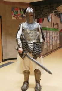 Whitman Post student's artwork displayed at medieval-themed fair