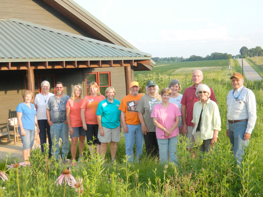 Master Naturalist Class ready to assist partners