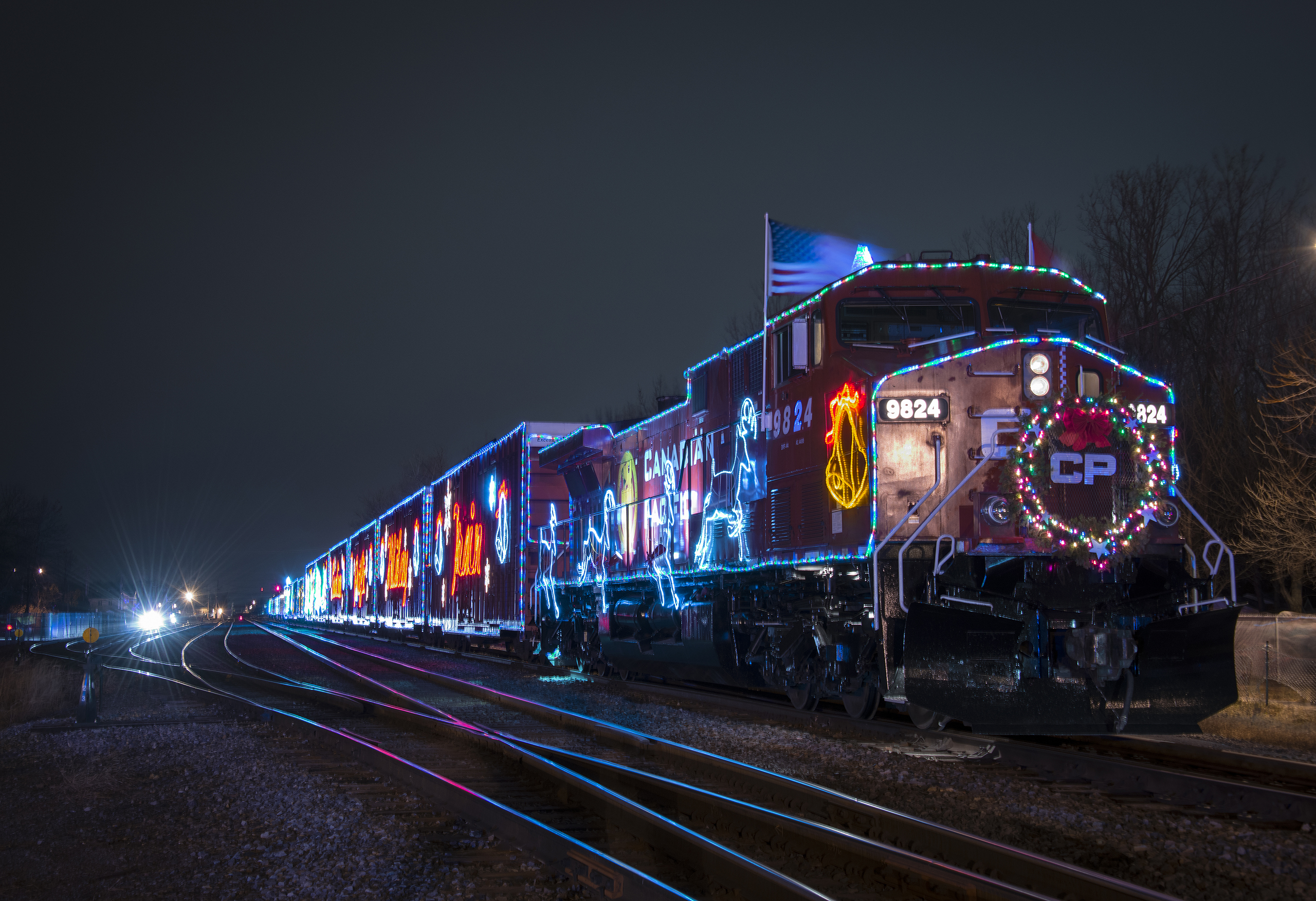 Canadian Pacific Holiday Train stops in Byron on this Friday