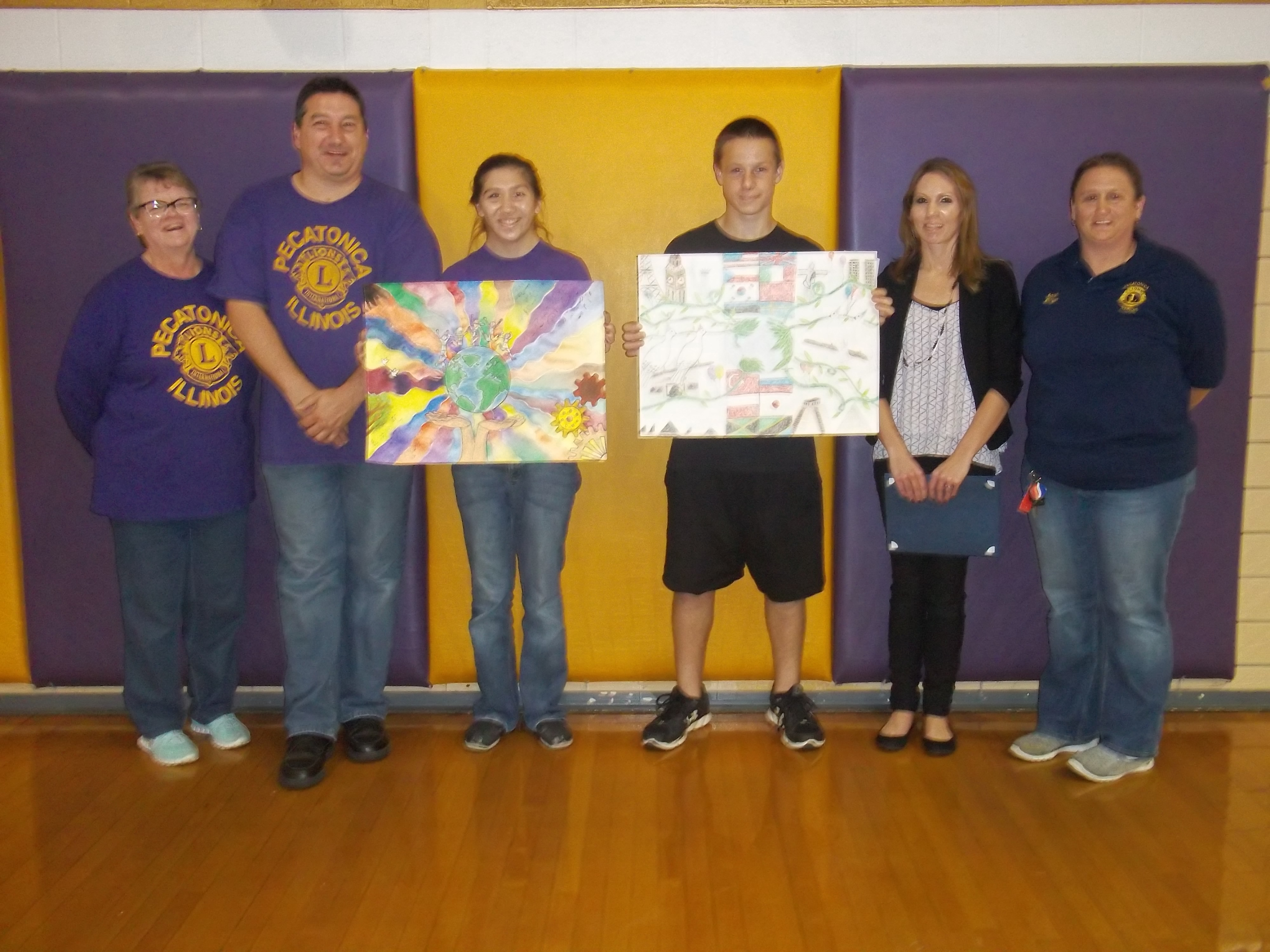 Local Student advances in 2016 Lions International Peace Poster Contest