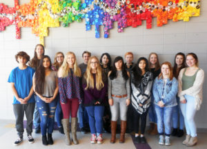 HHS outstanding young artists participate in area art shows