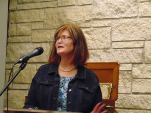 Kresol lectures on historic crimes in Boone, Winnebago Counties