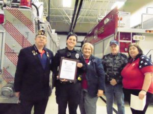 Rockton American Legion, Auxiliary recognize police, fire personnel