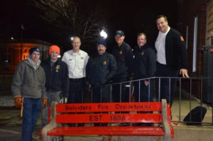 Eagle Scout project benefits Belvidere Fire Dept.