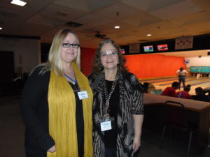 Bowlers raise funds for the Food Pantry