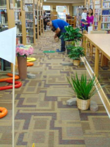 Cherry Valley Library offers indoor golfing