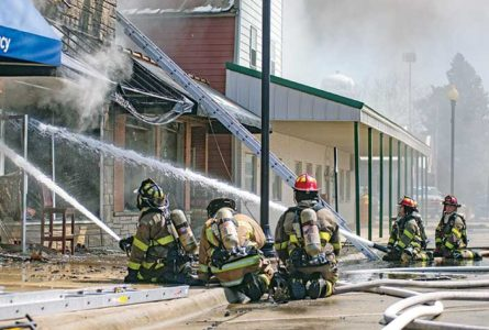 Cave Bar and Grill destroyed in three-alarm fire
