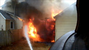 Structure fire in Belvidere brings a rapid response