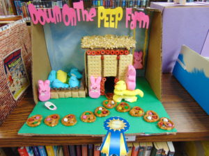 Ida Public Library diorama winners now on display