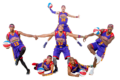 SUBMITTED PHOTO Belvidere Daily Republican 	The Harlem Wizards basketball team will visit Bel-videre High School to raise money to fund projects at the school