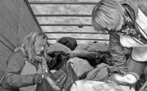 SUBMITTED PHOTO The Journal Volunteers load donated clothing onto truck at a past KNIB Clothing Drive.
