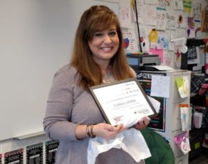 Ag in the Classroom awards Teacher of the Year honors